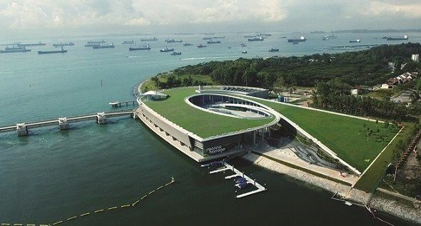 marina barrage and water resource