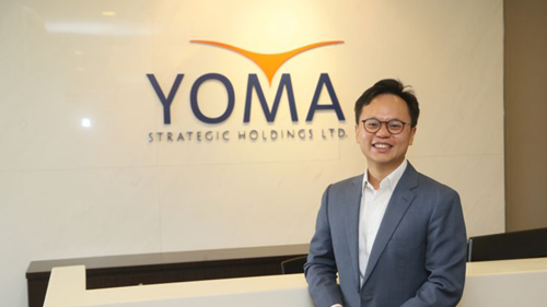 Yoma Strategic's chief executive Melvyn Pun