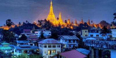 Myanmar Pagoda Shwedagon