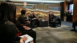 Meeting with James Wang, Chairman of TAITRA