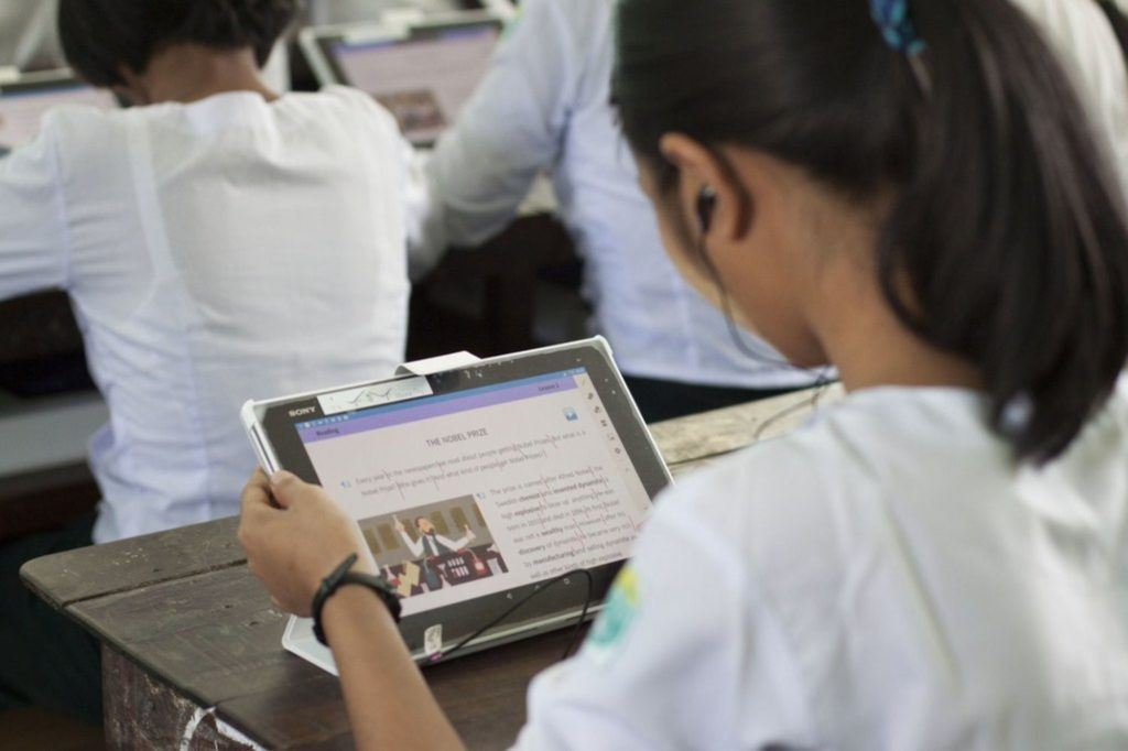 future of education Myanmar