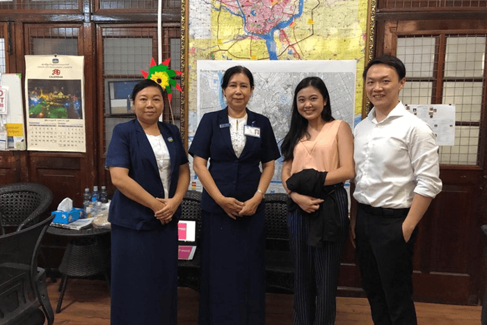 Asia IoT Business Platform's discussion with Daw Tin Tin Kyi, Director of Smart City, Yangon City Development Committee (YCDC)