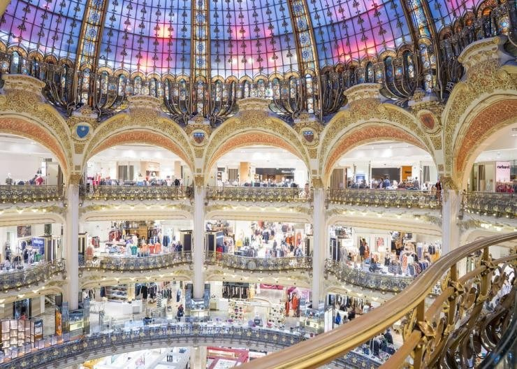 Galeries-Lafayette Champs Elysee
