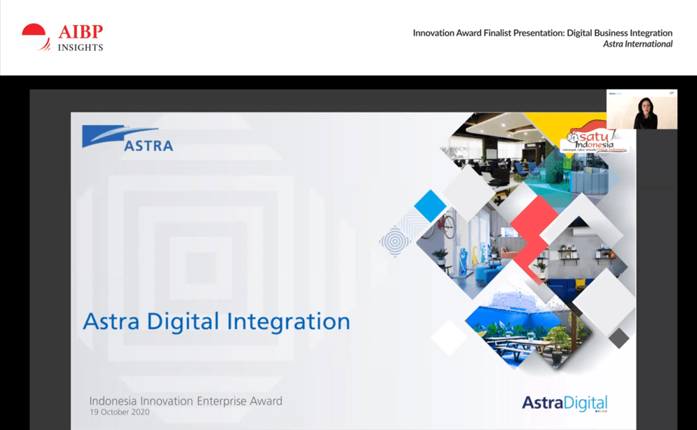 Astra International digital transformation project presentation