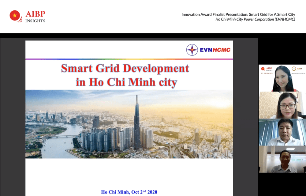EVN digital transformation project presentation