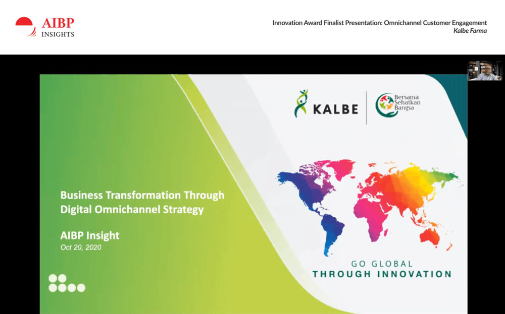 Kalbe Farma digital transformation project presentation