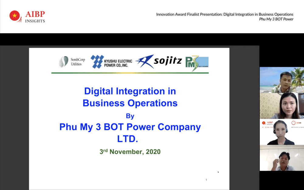 PM3 digital transformation project presentation