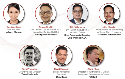 AIBP Insights Open Inclusive Banking Ecosystem panelists